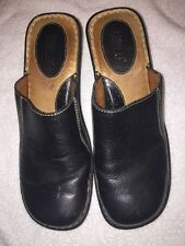 Women's BORN Black Mules Shoes Size EU 42 US 10