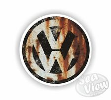 VW Rusty Sticker Decal Funny Car Van Volkswagen Rust Dub Bug Camper Bus