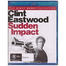 BLU-RAY SUDDEN IMPACT Clint Eastwood Dirty Harry Collection R18+ REGION B [BNS]
