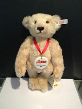 STEIFF TeddyBär 996344 Berlin 1999 Unicef Bär 28 cm Top Zustand !!