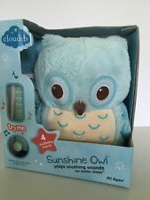 Cloud B Sunshine Owl - Blue