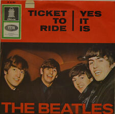 """Beatles-TICKET TO RIDE-yes it is-ODEON 22950 7"""" (j62)"""