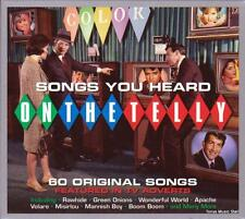 SONGS YOU HEARD ON THE TELLY - 60 ORIGINAL SONGS - VARIOUS ARTISTS (NEW 3CD)