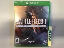 Battlefield 1: Early Enlister Deluxe Ed. (Microsoft Xbox One, Xbox 1, 2016) NEW!