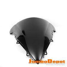 Motorcycle Windshield Front Wind Screen Black Bubble Fits YAMAHA YZF R6 03 04 05