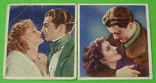 Cigarette Card Godfrey Phillips Ltd Famous Love Scenes 1939 60x53mm VGC 76