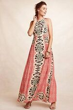 Anthropologie Botanique Maxi Dress By Bhanuni: Size 10
