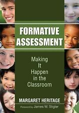 Formative Assessment : Making It Happen in the Classroom (2010, Paperback)