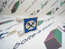 Lego drapeau 2x2 motif cavalerie ref 2335px4 pour set 6761 6762 6769 6706