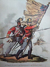 MILITARY POSTCARD- 9TH OR NORFOLK REGIMENT 1813 BY C HAMILTON SMITH