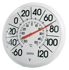 "Springfield Big & Bold 5 1/4"" Dial Outdoor Thermometer 90100-000-000"