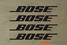 PEGATINA STICKER VINILO Bose audio sound altavoces