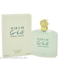 ACQUA DI GIO FOR WOMEN 100ml EDT SPRAY BY GIORGIO ARMANI ---------- NEW PERFUME