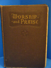 "Vintage 1932 Worship and Praise Hymnal  8"" X 5.5"""