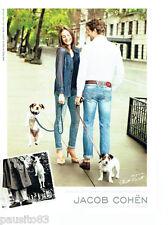 PUBLICITE ADVERTISING 1016  2012  Jacob Cohen  pret à porter par Elitt Erwitt
