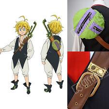 Cosonsen The Seven Deadly Sins Meliodas Cosplay Costume Shoulder Belt/Bag ONLY