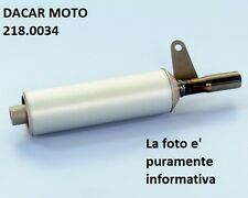 218.0034 SILENZIATORE MARMITTA CIAO SP-TOP ONE IN ALL. PIAGGIO POLINI