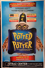 "NEW POTTED POTTER  POSTER 11"" X 17""  HARRY POTTER COMEDY"