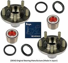 2000-2004 SUBARU OUTBACK Front Wheel Hub & KOYO (OEM) Bearing & Seals Kit (PAIR)