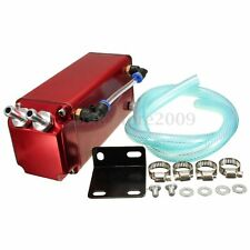 500ml Engine Oil Catch Tank Can Reservoir + Hose For VW GOLF LUPO POLO GTI VR6
