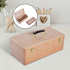 Portable Wooden Carry Easel Painting Box Folding Drawing Storage Artist Easel