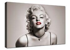 Quadro Moderno Cm 100x70 Stampa su Tela Arredamento Arredo Casa Marilyn Monroe