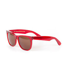 Retrosuperfuture Classic Crystal Ruby Red Fashion Sunglasses SUPER-896 55mm