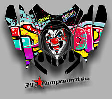 Arctic Cat Firecat Sabercat F5 F6 F7 03-2006 Graphics Decal Hood Joker Graffiti