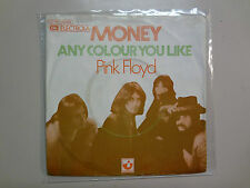 "PINK FLOYD: Money 3:07-Any Colour You Like 3:13-Germany 7"" 1973 Harvest EMI PSL"