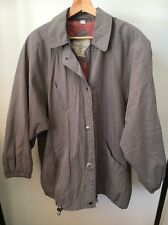 The Aquabury Mac Taupe Size 12 Lined Lightweight Jacket  T11701