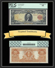 TT FR 1180 1905 $20 GOLD CERTIFICATE TECHNICOLOR PCGS 55 CHOICE ABOUT NEW