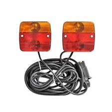 Anhänger Beleuchtungsset Magnet 12V Beleuchtung Kabel Trailer Boot Beleuchtung P