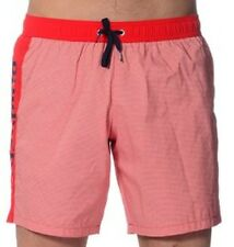 moschino mens red White Blue swim shorts size 32 It 48
