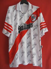 Maillot Club Atlético River Plate Argentine Vintage Jersey Football - L