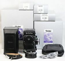 Rolleiflex 4,0 FW Wide-Angle Rollei 50/4 Super-Angulon 50mm + full accessories