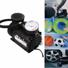 300 PSI 12V Car Auto Bike Portable Tire Air Compressor Electric Pump Inflator