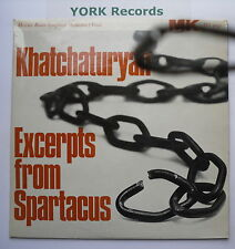 DO 4042 - KHATCHATURYAN - Excerpts From Spartacus GAUK Moscow RSO - Ex LP Record