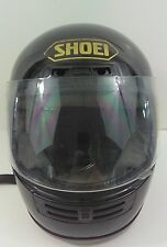 Vintage Shoei RF-200 Motorcycle Helmet size M Black with Gold Letters