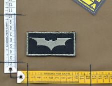 """Ricamata / Embroidered Patch """"Batman"""" Black with VELCRO® brand hook"""