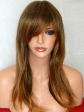 Brown Ombre Wig Womens Natural Fashion halloween party cosplay Ladies Wig L3