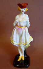 Vtg. Royal Doulton Porcelain Figurine HN724 *Mamselle* Potted by Doulton & Co.
