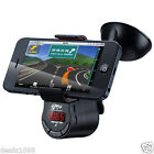 Car Kit FM Transmitter Bluetooth Handsfree Charger MP3 Player Phone Mount Holder