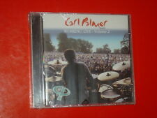 CARL PALMER BAND  WORKING LIVE-VOLUME 2- CD 6 TRK NEW SEALED SIGILLATO 2004