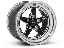 """2010 2011 2012 2013 2014 Mustang GT Weld RTS RT-S Forged Aluminum Black 15x10"""""""