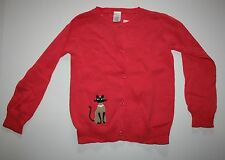 New Gymboree Outlet  Fancy Kitty Cardigan Sweater Size 10-12 year Button Front