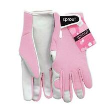 Sprout Blush Pink Ladies Goat Skin Soft Leather Garden Gloves Gardening New