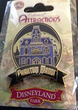 Pins Disney Attraction Phantom Manor dlp