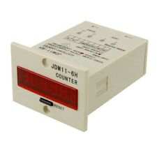 New JDM11-6H 6 Digits Display Electronic Counter Relay Control DC 12V