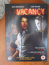 NO VACANCY [DVD] - KATE BECKINSALE/ LUKE WILSON - BRAND NEW