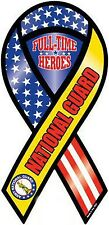 U.S. National Guard - Full-Time Heroes Magnetic Ribbon
